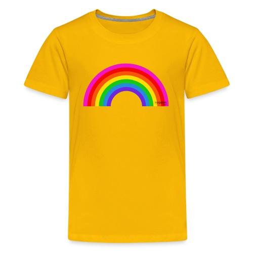 Rainbow - Teinien premium t-paita