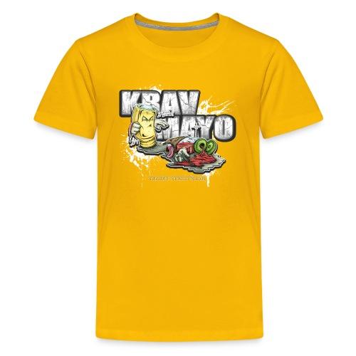 Krav Mayo - Teenager Premium T-Shirt