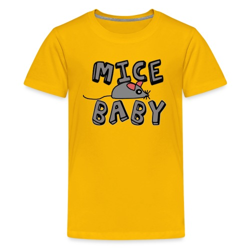 mice mice baby - ice ice baby - Teenager Premium T-Shirt