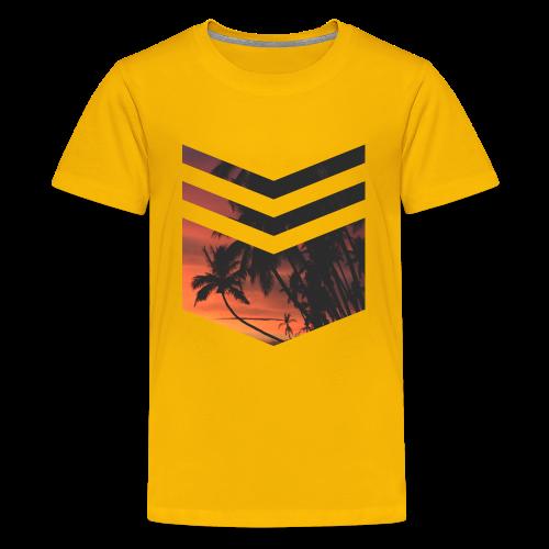 Palm Beach Triangle - Teenager Premium T-Shirt