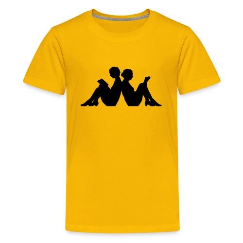 LÄSRO - Premium-T-shirt tonåring