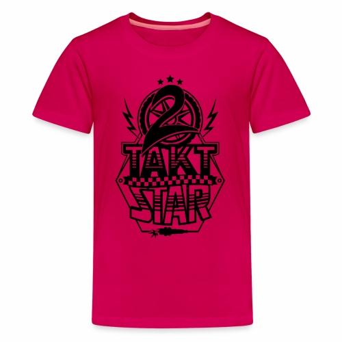 2-Takt-Star / Zweitakt-Star - Teenage Premium T-Shirt
