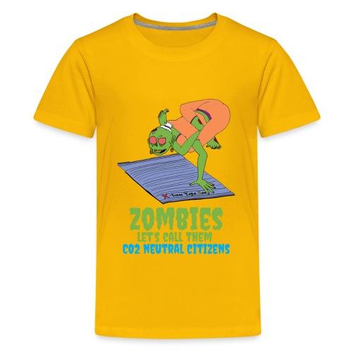 CO2 Neutral - Teenage Premium T-Shirt