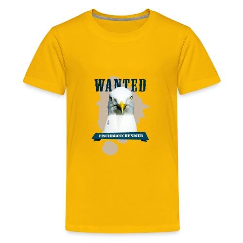 WANTED - Fischbrötchendieb - Teenager Premium T-Shirt
