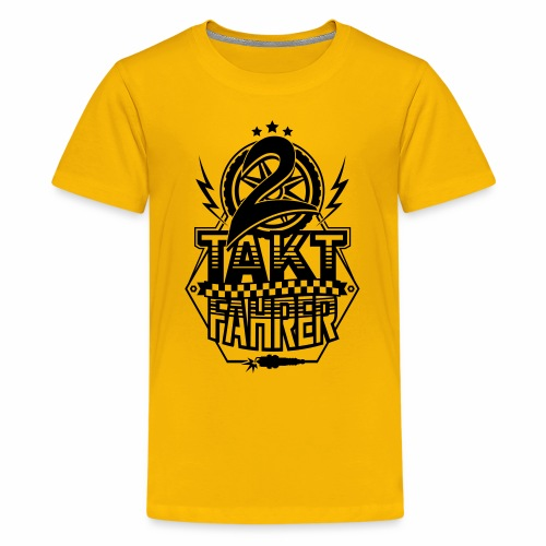 2-Takt-Fahrer / Zweitaktfahrer - Teenage Premium T-Shirt