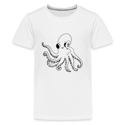 Little octopus - Teenage Premium T-Shirt
