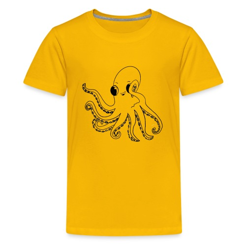 Little octopus - Teenage Premium T-Shirt
