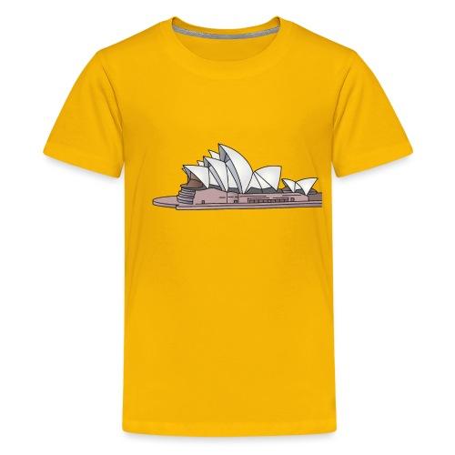 Opernhaus in Sydney, Australien c - Teenager Premium T-Shirt