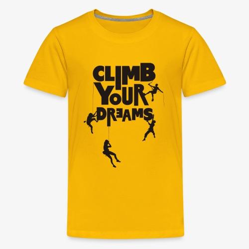 Scale your dreams - Teenage Premium T-Shirt