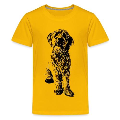 Golden Doodle Hunde Design Geschenkidee - Teenager Premium T-Shirt