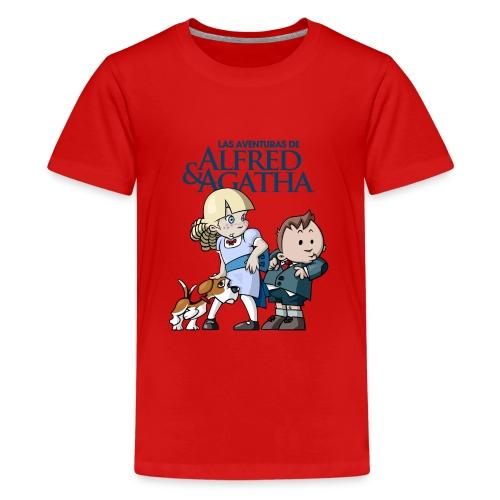 alfredagatha1 - Camiseta premium adolescente