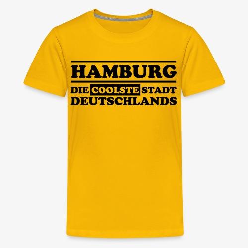 Hamburg Die coolste Stadt Deutschlands B 1c - Teenager Premium T-Shirt