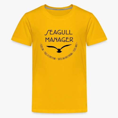 Seagull Manager - Teenager Premium T-Shirt