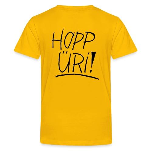 Hopp Üri - Teenager Premium T-Shirt