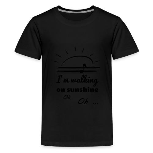 sunshine - Teenager Premium T-Shirt