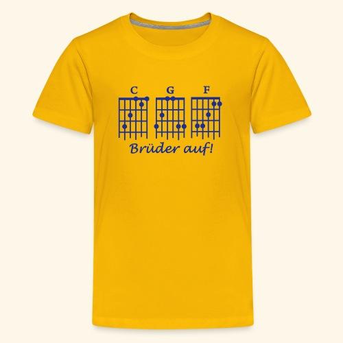 Brüder auf - Teenager Premium T-Shirt