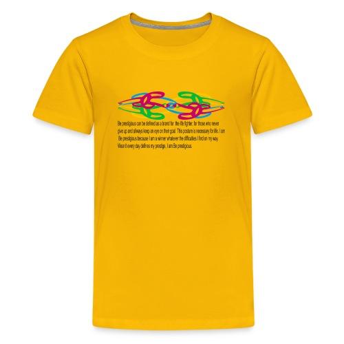 esprit seul et tembe A - T-shirt Premium Ado