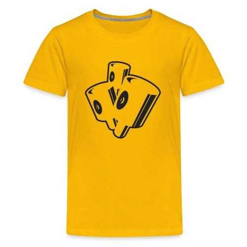 graffiti fat caps x3 ver.0.1 - Teenager premium T-shirt