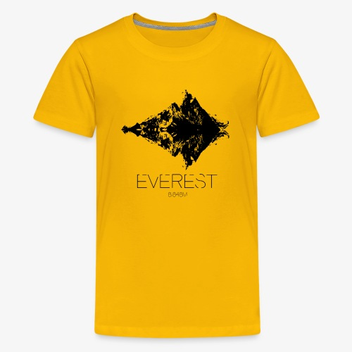 Everest - Teenage Premium T-Shirt