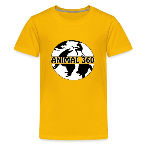 Logo Animal 360 version simple - T-shirt Premium Ado