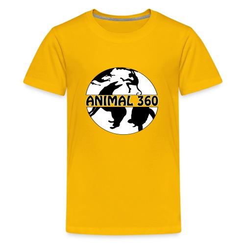 Logo Animal 360 version simple - T-shirt Premium Ado