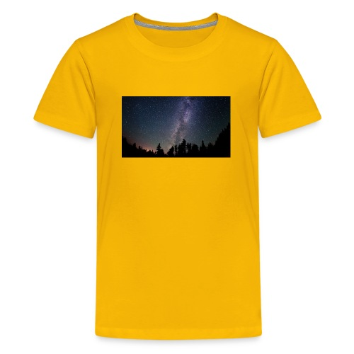 heelal ruimte sterrenhemel - Teenager Premium T-shirt