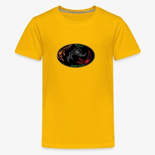 alpha badass - Teenager Premium T-Shirt