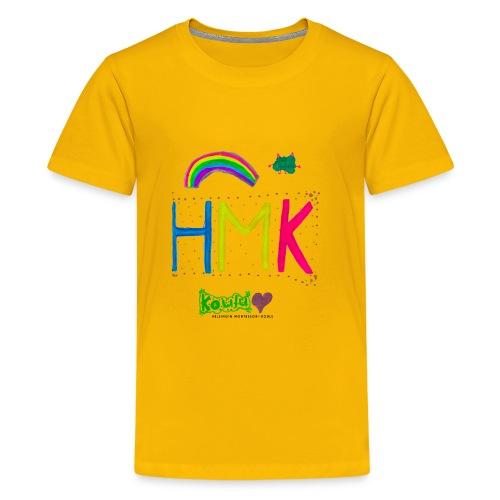 HMK Montessori-koulun omat - Teinien premium t-paita