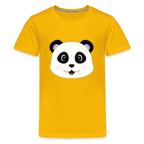 panda rainbow - Camiseta premium adolescente