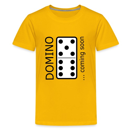 domino11 coming soon - Teenager Premium T-Shirt