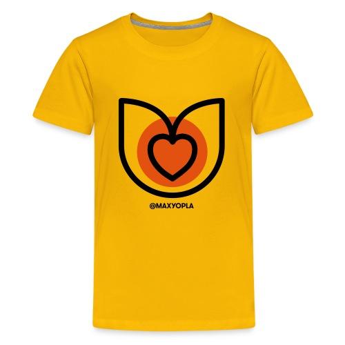 Tulipe cœur - T-shirt Premium Ado
