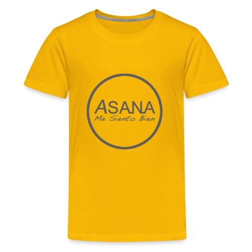 Centro ASANA . Me siento bien! - Camiseta premium adolescente