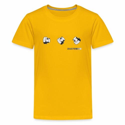 2wear caps street flow ver01 - Teenager premium T-shirt