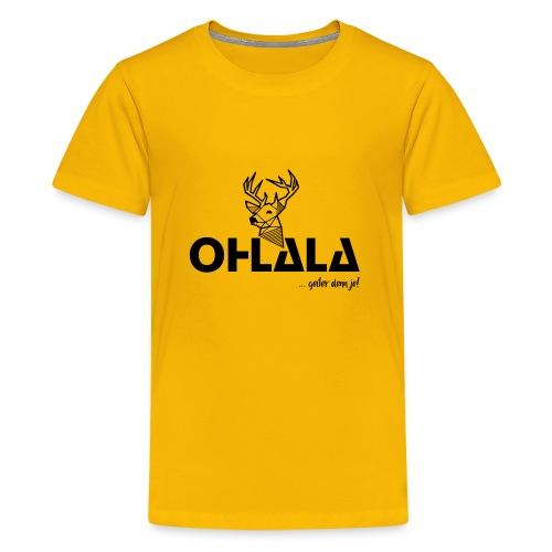 OHLALA Logo - Teenager Premium T-Shirt