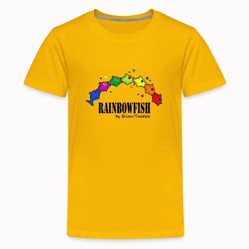 rainbowfish - Maglietta Premium per ragazzi