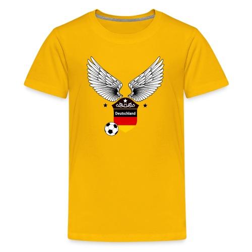 Fußball T-shirts Deutschland - Teenage Premium T-Shirt