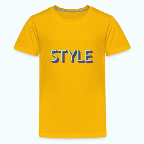 Style - Teenage Premium T-Shirt