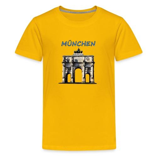 Münchnen Siegestor - Teenager Premium T-Shirt