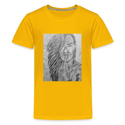 Jyrks_kunstdesign - Teenager premium T-shirt