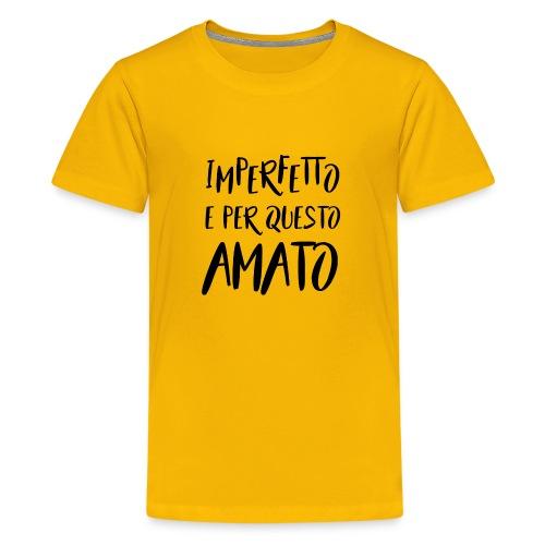 Imperfetto e per questo amato N - Maglietta Premium per ragazzi