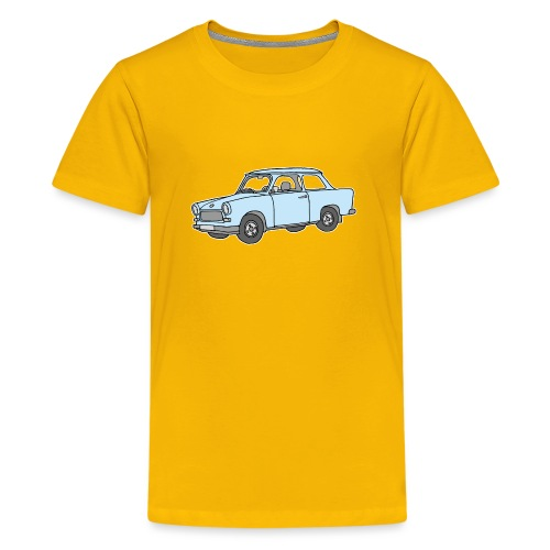 Hellblauer Trabi, Trabant - Teenager Premium T-Shirt