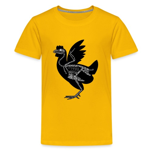 Huhn-Skelett - Camiseta premium adolescente