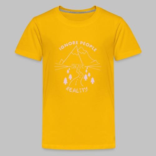 Escape Reality - Teenage Premium T-Shirt