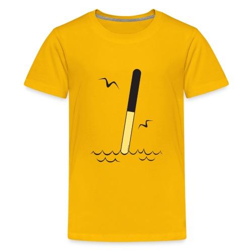 POHJOISVIITTA Merimerkit, tekstiilit ja lahjat - Teinien premium t-paita