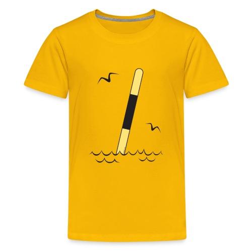 LÄNSIVIITTA Merimerkit, Tekstiilit ja lahjat - Teinien premium t-paita