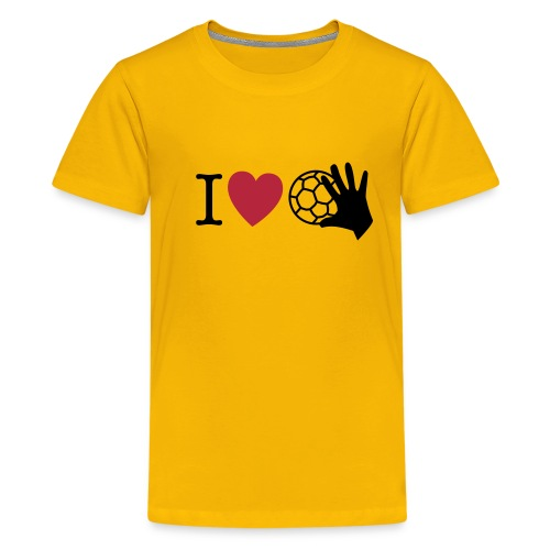 I love Handball 1 - Teenager Premium T-Shirt