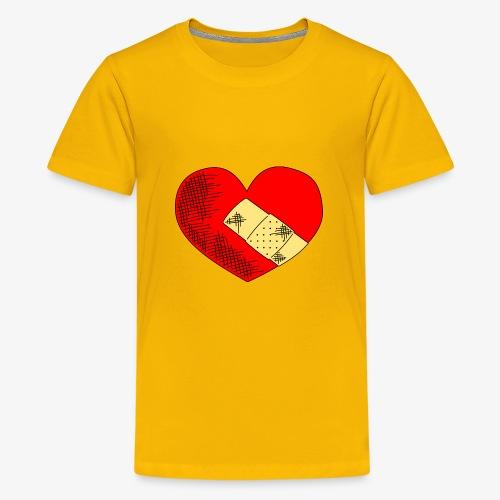 Herzschmerz - Teenager Premium T-Shirt