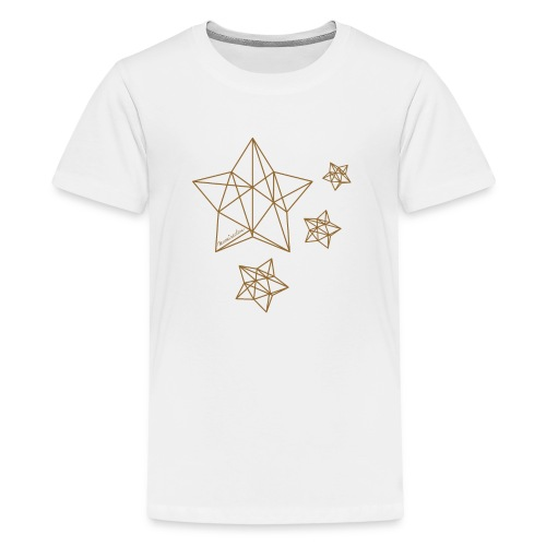 Sternenhimmel Diamant - Teenager Premium T-Shirt