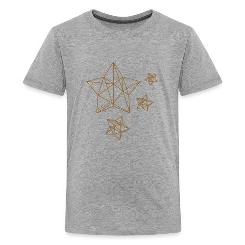 Sternenhimmel Diamant - Teenager Premium T-Shirt