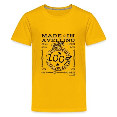 1,02 Prodotto a Avellino - Maglietta Premium per ragazzi